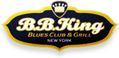 BB King Blues Club & Grill in New York City located on 42nd Street in Times Square.