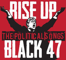 Black 47 Rise Up CD cover